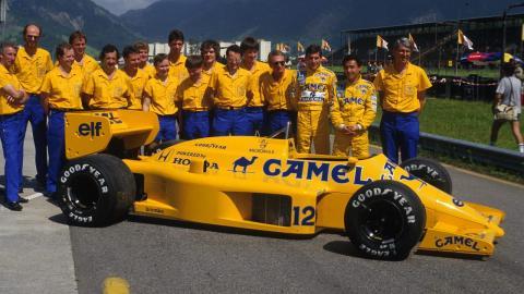 Lotus en la temporada 1987
