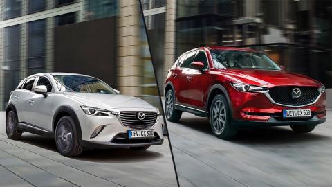 Mazda CX-3 vs Mazda CX-5