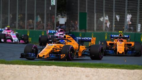 McLaren en el GP de Australia