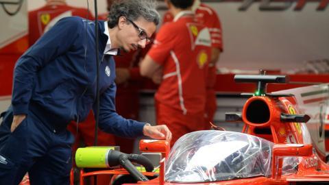 Mekies y Ferrari