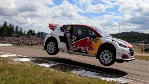 Peugeot 208 WRX Rallycross