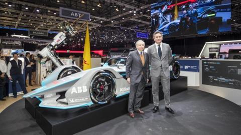 Presentado en Ginebra el nuevo Fórmula E