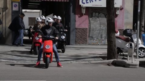 Prueba NIU Scooters Serie M