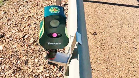 Radares portátiles ilegales