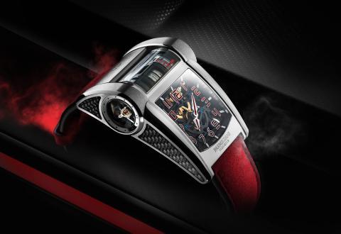 Reloj de Parmigiani inspirado en el Bugatti Chiron Sport