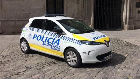 Renault Zoe Ayuntamiento Madrid