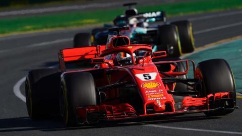 Sebastian Vettel vence en Australia