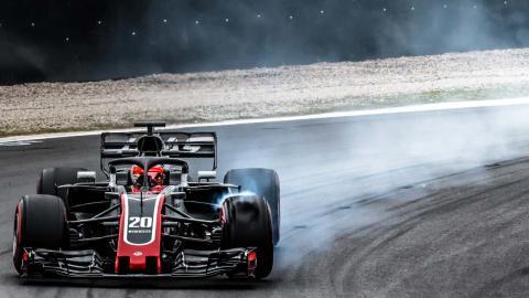 Test F1 2018 Haas