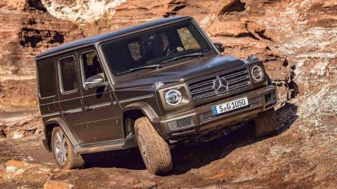 Todoterrenos 2018 Mercedes Clase G