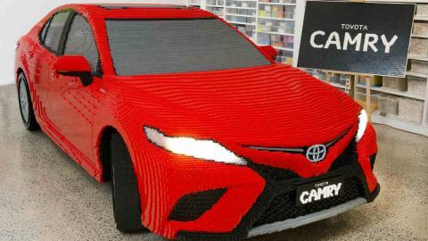 Toyota Camry Lego