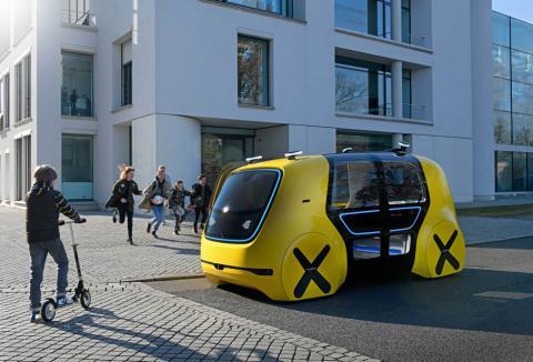 Volkswagen Sedric School Bus Concept