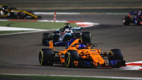 Alonso en Bahrein