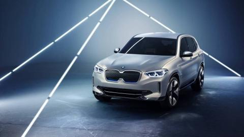BMW Concept iX3 y su diseño exterior