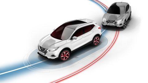 Control inteligente de trazada Nissan