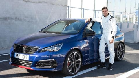 David Ferrer con Peugeot