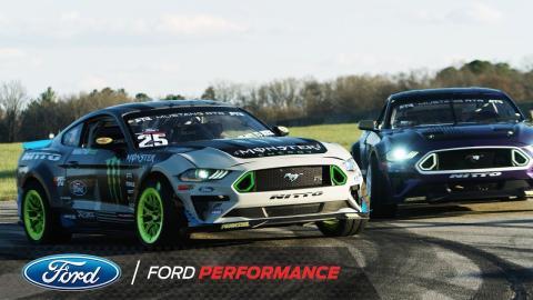 Fórmula Drift Ford Mustang