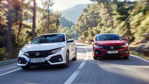 Honda Civic Sedan o cinco puertas