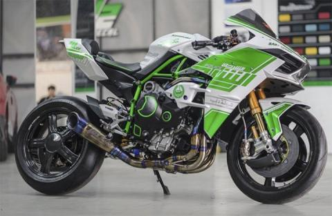 Kawasaki H2 de la Policía de Dubai