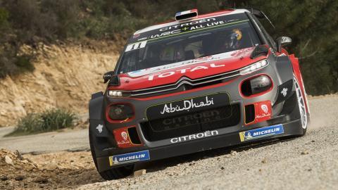 LOeb en el Citroen C3 WRC