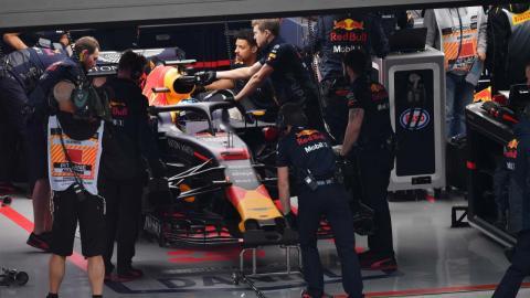 Mecánicos Red Bull F1