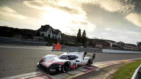 Porsche 919 Hybrid, más rápido que un F1 en Spa