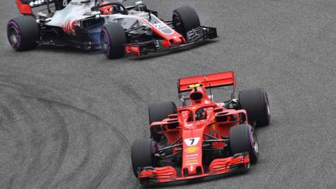 Raikkonen en la clasificacion GP China 2018