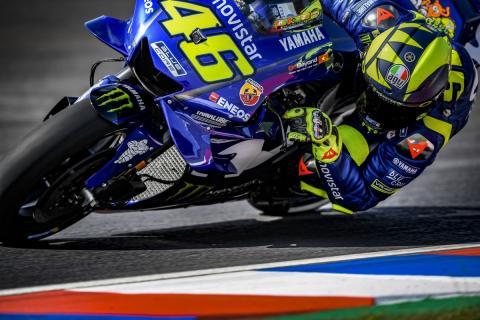 Recado de Rossi a Márquez en las redes sociales