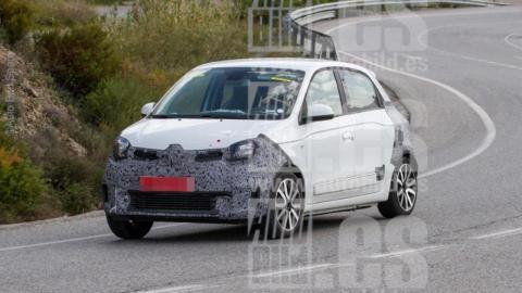 Renault Twingo 2019 fotos espía