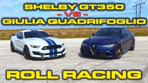 Shelby VS Giulia QV