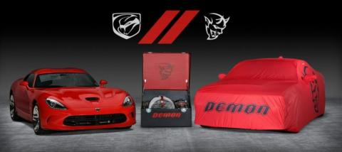 Subasta Dodge Viper y Dodge Demon