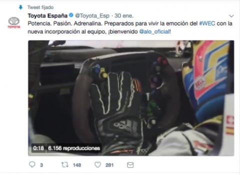 Toyota en redes