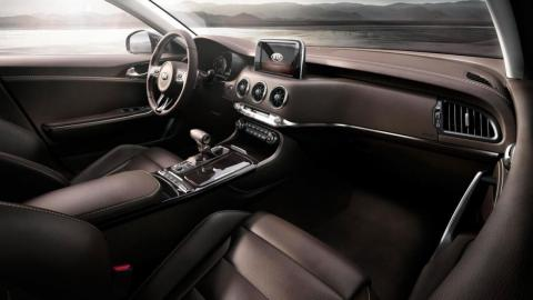 Tres secretos del interior Kia Stinger GT