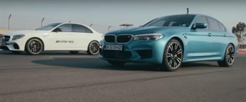 VÍDEO: Nuevo BMW M5 vs. Mercedes-AMG E63 S
