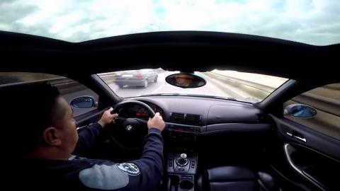 accidente BMW M3