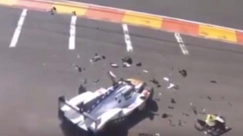 Accidente Pietro Fittipaldi WEC