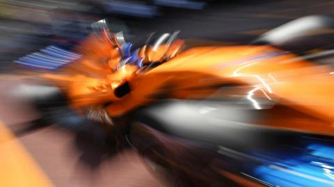 Alonso en el GP Mónaco 2018