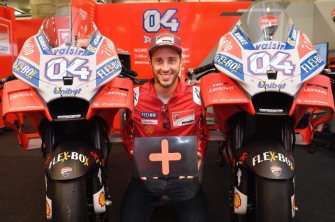 Andrea Dovizioso renueva con Ducati hasta 2020