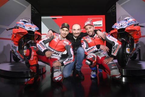 Domenicali sugiere que Lorenzo no seguirá en Ducati