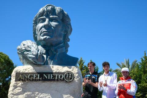 Homenaje Ángel Nieto en el Circuito de Jerez