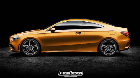 Mercedes Clase A L Coupé by X-Tomi