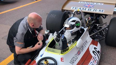 Monaco BRM Andy Soucek