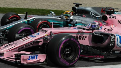 Ocon y Mercedes