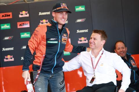 Pol Espargaró renueva con KTM hasta 2020