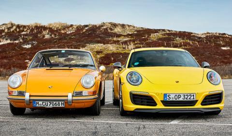 Porsche 911 Carrera T vs su antepasado