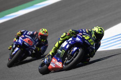 Problemas de Yamaha en Jerez