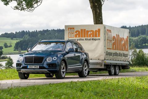 Prueba Bentley Bentayga Diesel