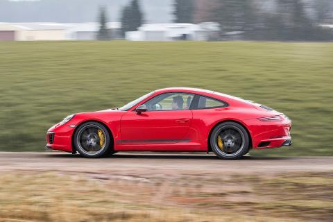 Prueba del Porsche 911 Carrera T manual