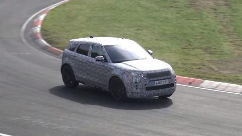 Range Rover Evoque 2019 foto espía