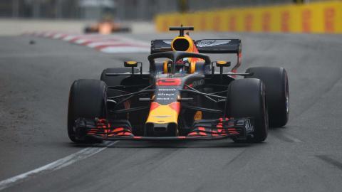 Red Bull en el GP Azerbaiyán