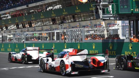 Salida Le Mans 2017